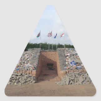 The Auld Acquaintance Cairn - Testimony to the UK Triangle Sticker