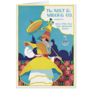 The Ault & Wiborg Co. No. 11 Card
