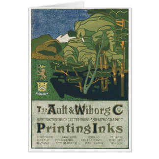 The Ault & Wiborg Co. No. 14 Card