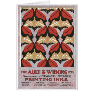 The Ault & Wiborg Co. No. 3 Card