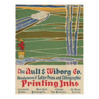 The Ault & Wiborg Co. No. 7 Postcard