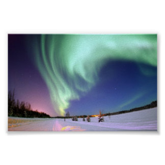 The Aurora Borealis, or Northern Lights Poster