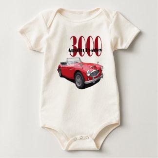 The Austin Healey 3000 Baby Bodysuit
