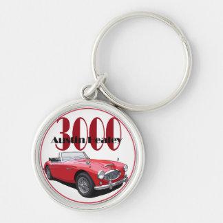 The Austin Healey 3000 Key Chains