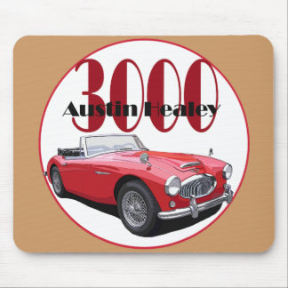 The Austin Healey 3000 Mouse Pad