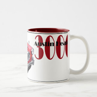 The Austin Healey 3000 Two-Tone Coffee Mug