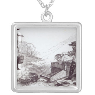 The Australian Gold Diggers Silver Plated Necklace