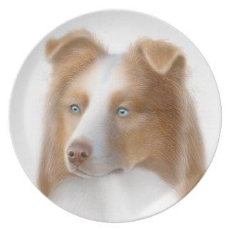 The Australian Shepherd Dog Plate