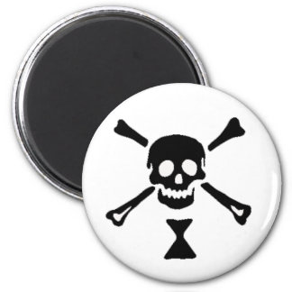 The authentic pirate flag of Emanuel Wynn Magnet