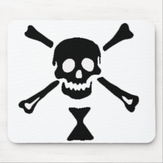 The authentic pirate flag of Emanuel Wynne Mouse Pad