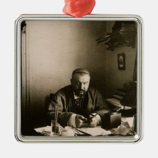 The author Alexander Ivanovich Kuprin Metal Ornament