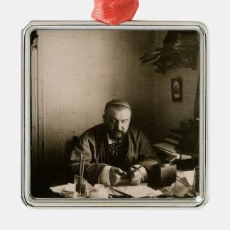 The author Alexander Ivanovich Kuprin Metal Ornament