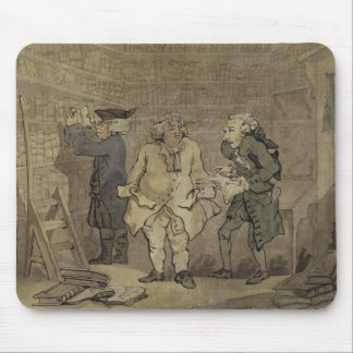 The Author and his Publisher, 1784 (grey wash and Mouse Pad