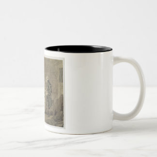 The Author and his Publisher, 1784 (grey wash and Two-Tone Coffee Mug