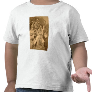 The author Leo Tolstoy with his family Tshirts