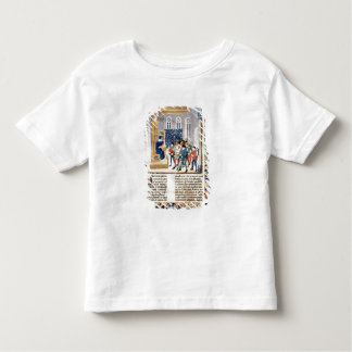 The Author Presenting his Book to the Peasants Toddler T-shirt