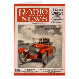 The Auto Radio-Phone Card