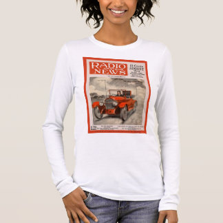 The Auto Radio-Phone Long Sleeve T-Shirt