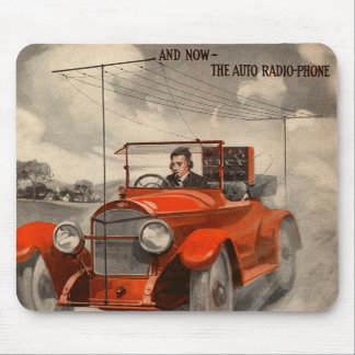 The Auto Radio-Phone Mouse Pad