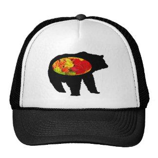 THE AUTUMN BEAR TRUCKER HAT