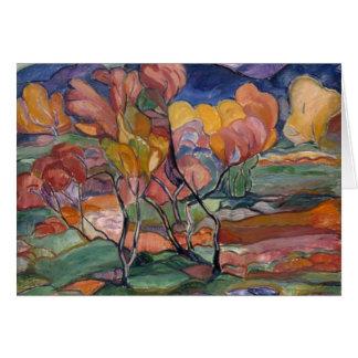 The Autumn Card