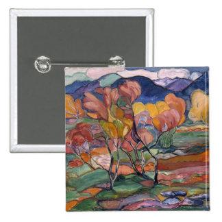 The Autumn Pinback Button