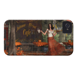 The Autumn Roast Cafe iPhone 4 Cover