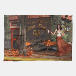 The Autumn Roast Cafe Kitchen Towel
