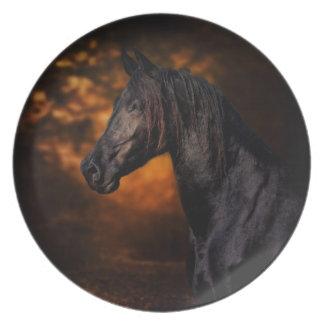 The Autumn Stallion Plate