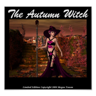 The Autumn Witch Poster