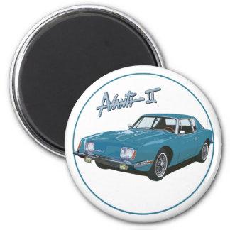 The Avanti II 2 Inch Round Magnet