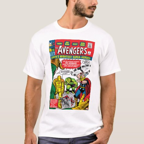 The Avengers #1 Comic Cover T-Shirt