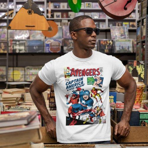 The Avengers 4 Comic Cover T_Shirt