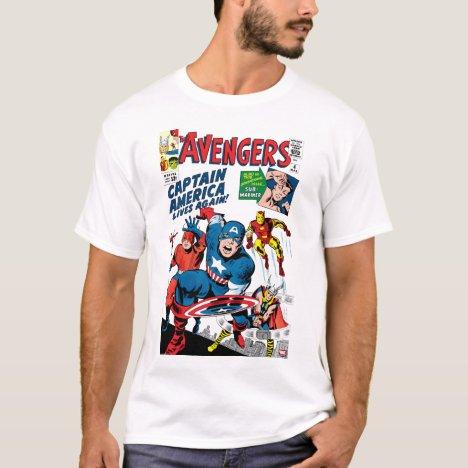 The Avengers #4 Comic Cover T-Shirt