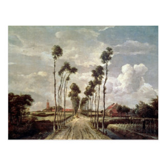 The Avenue at Middelharnis, 1689 Postcard