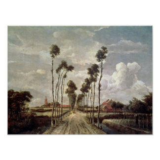 The Avenue at Middelharnis, 1689 Print