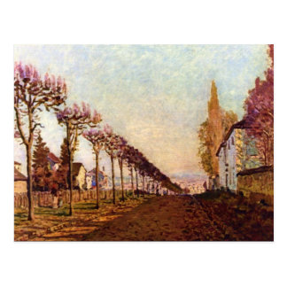 The Avenue by Alfred Sisley Postcard
