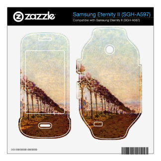 The Avenue by Alfred Sisley Samsung Eternity II Decal