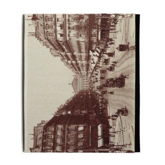The Avenue de l'Opera, Paris  (sepia photo) iPad Case