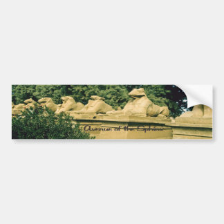 The Avenue of the sphinx Bumper Sticker