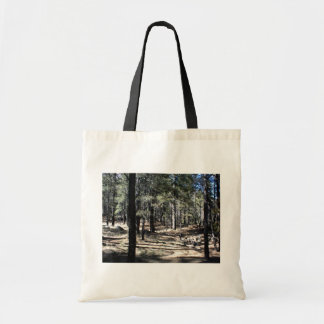 The Average Forest Around Flagstaff Tote Bags