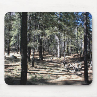 The Average Forest Around Flagstaff Mouse Pad