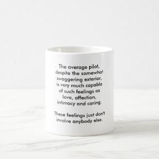 The average pilot coffee mug
