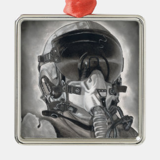 The Aviator Metal Ornament