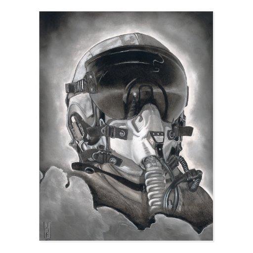 The Aviator Postcard