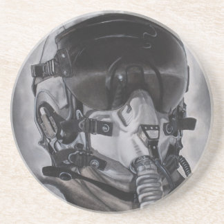 The Aviator Sandstone Coaster