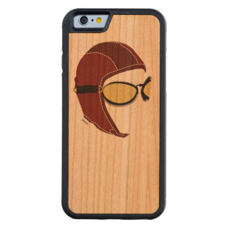 The Aviator Vintage Carved® Cherry iPhone 6 Bumper