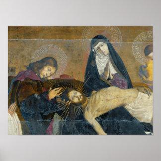 The Avignon Pieta, 1450-60 Poster