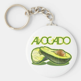 The Avocado Keychain