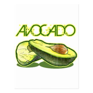 The Avocado Postcard
